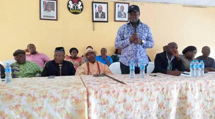 frank Archibong, Algon Chairman, Akwa Ibom State/Caretaker Committee Chairman, Eket